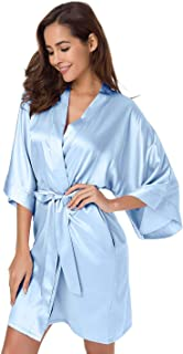 silk robe for wedding day