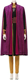 MUMUWU Adventure Princess Cosplay Elsa Anna Cosplay Costume Anna Dress Outfit Carnival Cosplay Costume for Girls Women (Co...