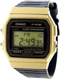 カシオ CASIO クオーツ ユニセックス 腕時計 F-91WM-9A ブラック[逆輸入品][wimp]