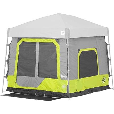 E-Z UP Cubo de Camping 5.4, Convierte el toldo en ángulo de 10 pies en Tienda de campaña, Lima