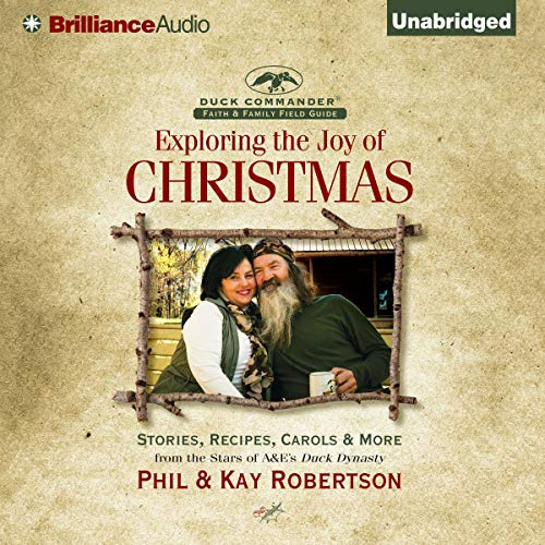 Exploring the Joy of Christmas audiobook cover art