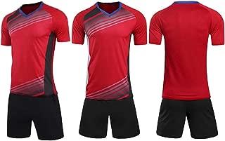 Gym Compression&Tights Goalkeeper Football Short Sleeve Jersey for Men's Soccer Jersey Adult Training Uniform
