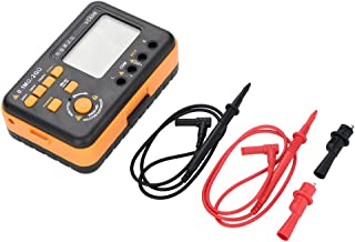 VC60B LCD Digital Insulation Resistance Tester Megohm Meter Testers Measure 200MΩ/2GΩ Yellow