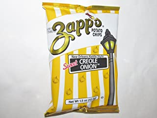 Zapp's Kettle Chips Bag, Sweet Creole Onion, 1.5 oz, 30 Count
