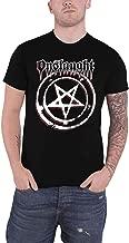 Onslaught T Shirt Pentagram Band Logo Thrash Metal Official Mens Black