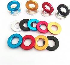 Bclla Zkenshan-ringen M5 M6 M8 M10 Kleurrijke Aluminium Flat Washer Pakking Geanodiseerde Plain Model Pakkingen, 50 stuks,...