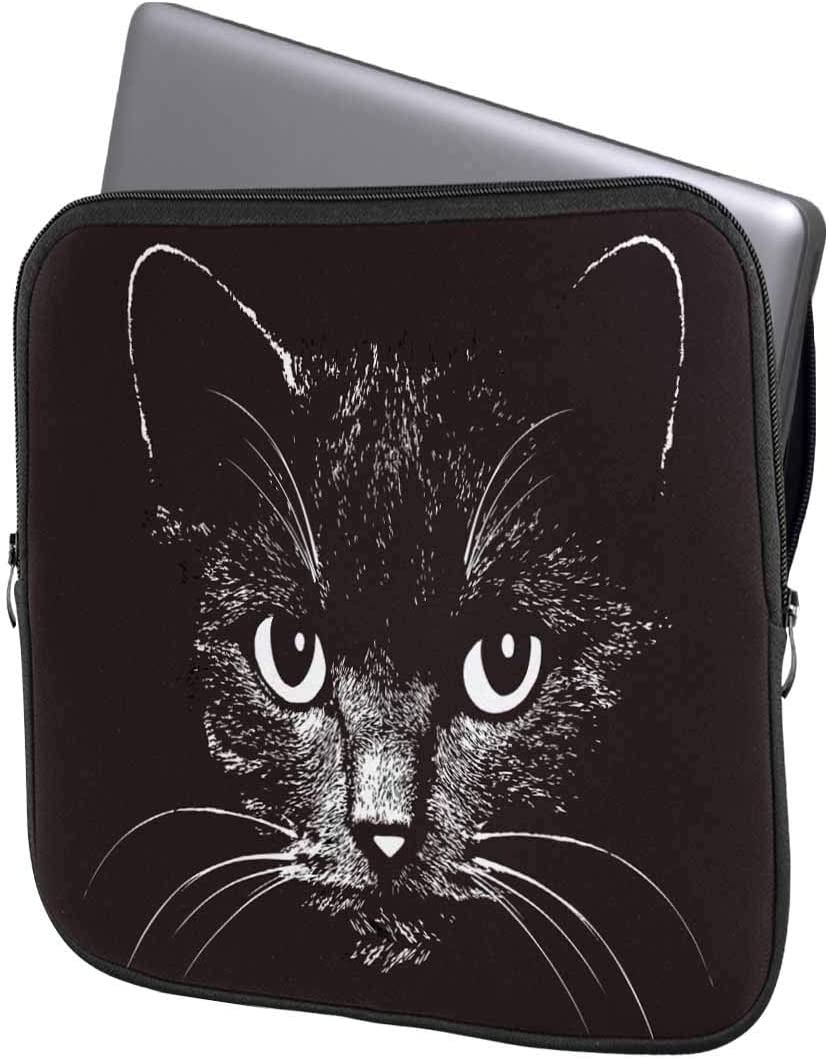INTERESTPRINT 11 Inch 11.6 Inch Laptop Sleeve Bag Cat and Dog Friends Grungy Card Notebook Computer Carrying Case Cover