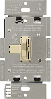 Lutron Toggler Magnetic Low Voltage Dimmer Switch, Single-Pole, AYLV-600P-IV, Ivory