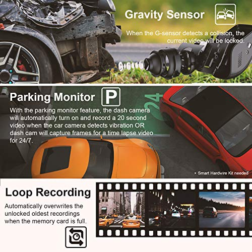 Rexing V1 - 4K Ultra HD Car Dash Cam 2.4