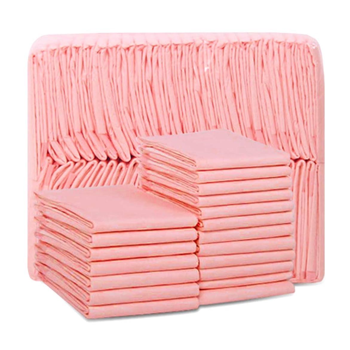 パリティマザーランド哲学的100パックペットトレーニングと子犬パッド犬トイレおしっこパッド新しい改善された品質6層厚い通気性消臭漏れ防止ベースフィルムスーパー吸収ピンク