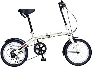 My Pallas(マイパラス) 折畳自転車16インチ・シマノ6段ギア付 M-103