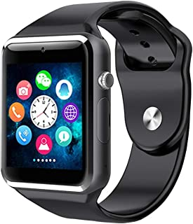 e4ceb432e1c0c9 M9 Bluetooth Smart Watch Compatible with All 3G, 4G Phone with Camera and  Sim Card