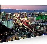 islandburner Bild Bilder auf Leinwand Las Vegas 1p Casino