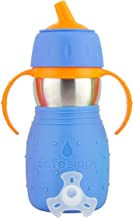 Kid Basix by New Wave Safe Sippy - Stainless Steel Sippy Cup for Baby & Toddler