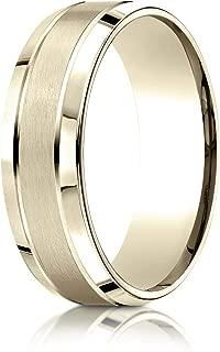 14K Gold, 18K Gold or Platinum Wedding Band, Men's or Women's, 7MM Width