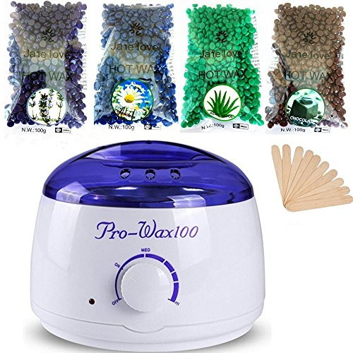 Youke Hot Wax Warmer Depilation Set,...