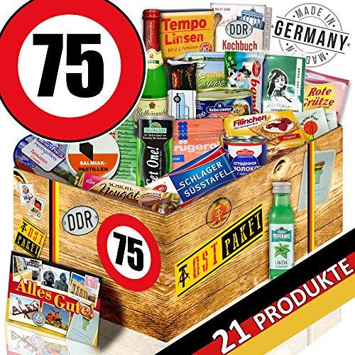 DDR Paket / 75 Geburtstag / Geschenk Ideen Mutti / Spezial Geschenk Box