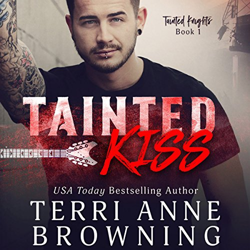 Tainted Kiss audiobook cover art