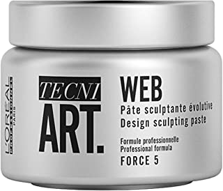 L'Oreal Professional Tecni Art force 5 Web Design Sculpting Paste, 5 Ounce