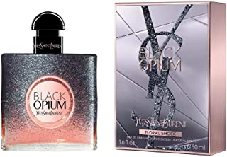 Yves Saint Laurent Black Opium Floral Shock Eau de Parfum Spray for WoMen, 1.6 Ounce