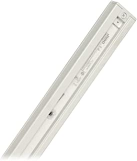Juno Trac-Master 2 Foot T Series Track Section, 1-Circuit, White