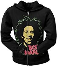 Bob Marley - Womens Sweet Juniors Zip Hoodie