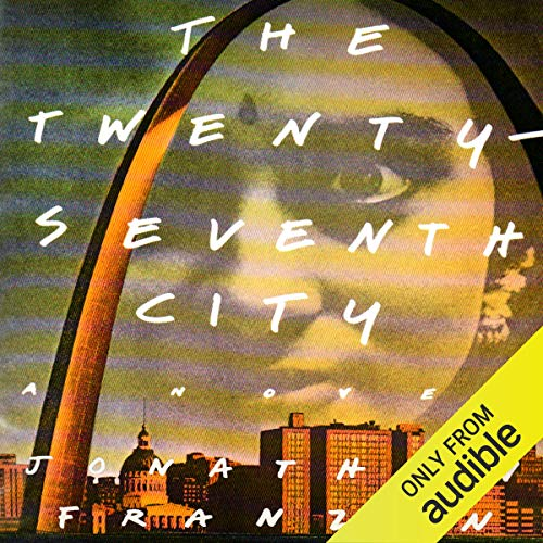 The Twenty-Seventh City audiobook cover art