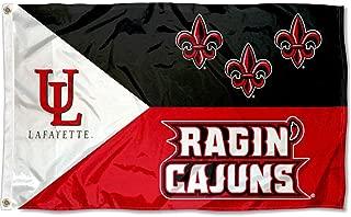 UL Lafayette Ragin Cajuns Large Acadian 3x5 College Flag