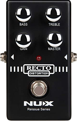 2021 NUX discount Recto outlet online sale Distortion Guitar Effec pedal the heavy distortion sound with tight bass response online sale