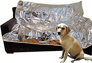 Mosher Pets - Indoor Pet Repeller Furniture Training Mat - Keep Cats and Dogs Off The Couch, Pet Deterrent and Barrier For...