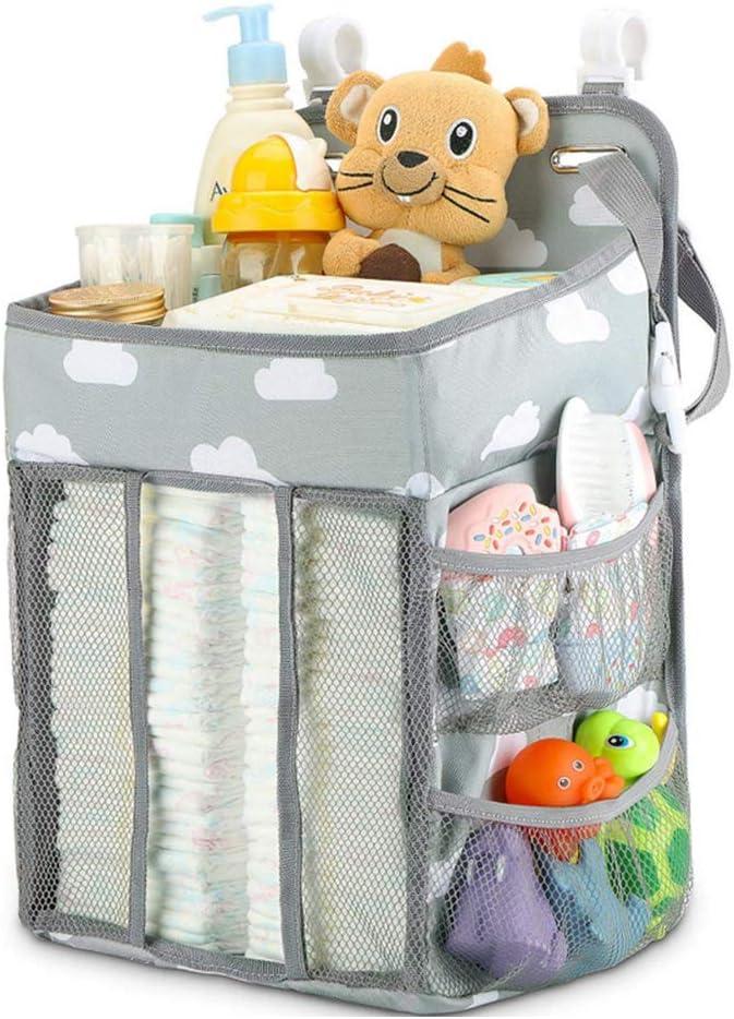 LANGM Hanging Diaper Caddy Organizer Stacker Crib Same day shipping Elegant Hangi