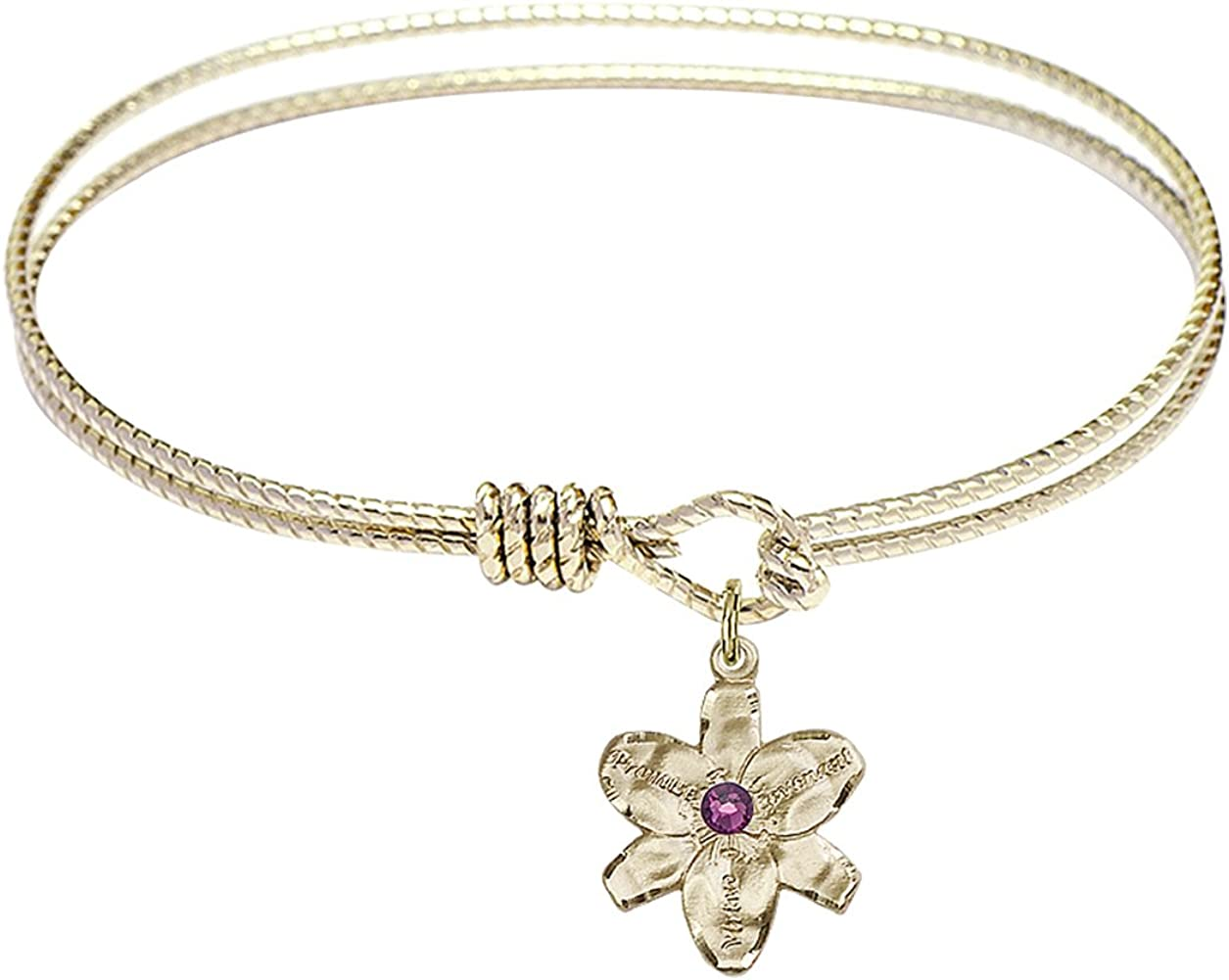 DiamondJewelryNY Ranking TOP4 Eye Hook Bangle Max 63% OFF Bracelet Charm. with a Chastity
