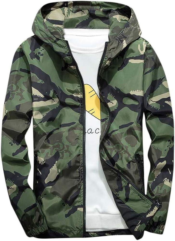 Men's Camouflage Jacket Winter Outdoor Waterproof Windproof Hoodie Coat