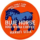 Farm-fresh: 100% Kona Coffee, Single Serve for 2.0 Keurig K-Cup Brewers, 10 Count, Full-City Roast authentic Kona coffee