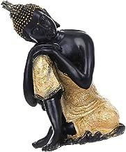 Generic SEAT Buddha Statue Hand Painted Resin Hindu Tribal God Meditation - as described, 14 * 12 * 20