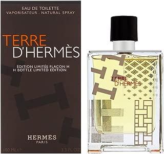 Terre D'Hermes by Hermes for Men 3.3 oz Eau de Toilette Spray H Bottle Limited Edition 2016