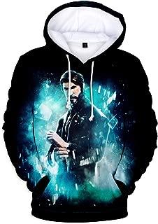 3D Hoodie Sweatshirt Cartoon Hooded Casual Hoodie