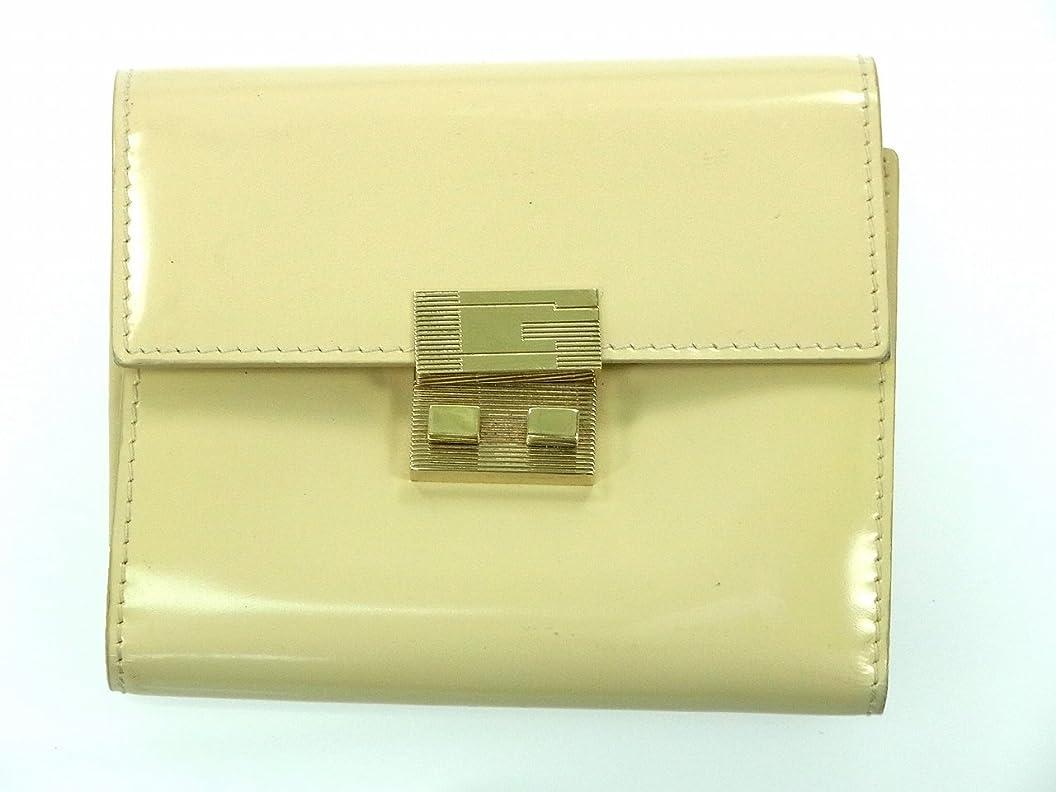 空白ずらす霧深い[グッチ] GUCCI 二つ折り財布 エナメルレザー X9335 中古