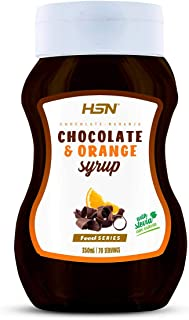 HSN Chocolate and Orange Syrup | Low Calorie, Fat Free, Sugar Free, Stevia Sweetened | Non GMO | 350ml