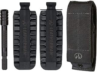 LEATHERMAN – 42 Piece Bit Kit Set + Leatherman Bit Driver Extender + Leatherman X-Large Black MOLLE Sheath for Leatherman Multi-Tools