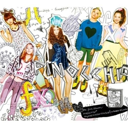 F(X) - [PINOCCHIO] VOL.1 1st Album CD+100p Photo Book K-POP Sealed SM fx