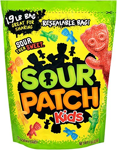 Sour Patch Kids Candy (Original, 1.9 Pound Bag, Pack of 2) by Sour Patch