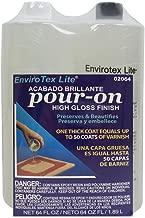 Environmental Tech Envirotex Pour-on High Gloss Finish 1/2 Gallon Kit