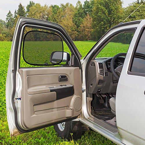 "Enovoe Car Window Shade - (4 Pack) - 21""x14"