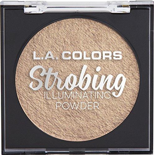 L.A. COLORS Strobing Illuminating Powder, Gold Halo