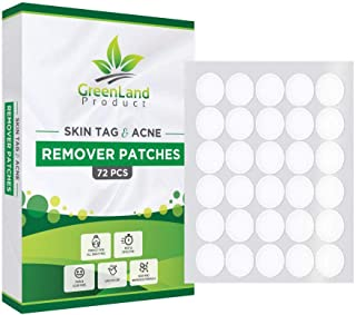 Skin Tag and Acne Remover Patches (72 Pcs) Natrual Ingredients Medicated Patches,Pimple..