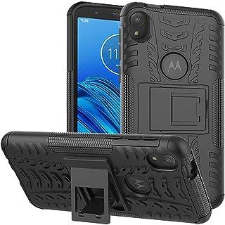 Labanema Funda para Moto E6 /Moto E, [Heavy Duty] [Doble Capa] [Protección Pesada] Híbrida Resistente Case Protectora y Robusta para Motorola Moto E6 /Moto E (6th Gen) - Negro