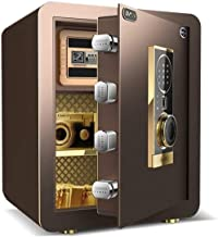 HTTBXG Household Sure, Password Anti-Theft Security Safe Office Cash Deposit Box Bedside Wall Fortified Safe Jewelry Diamo...