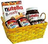 Cesta de Pascua con Nutella (6 piezas)