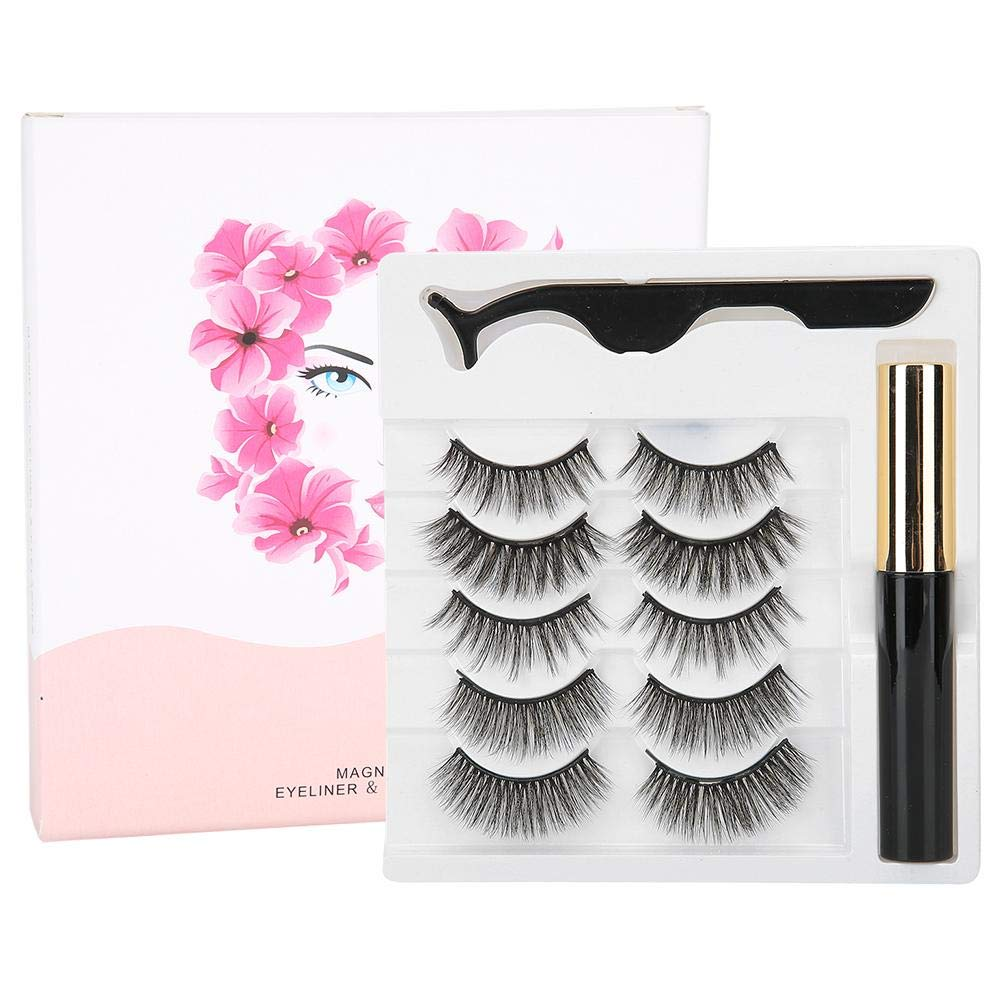 5 Pairs Many popular brands False Eyelashes Firm Tulsa Mall Kit Durable Ey and